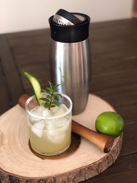 Mojito Drink Recipe with Cannabis